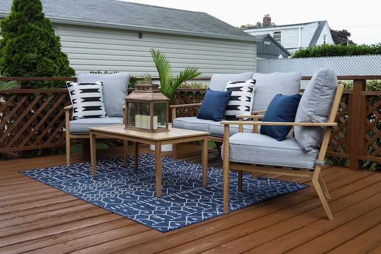 DIY Deck Makeover with Olympic Stain