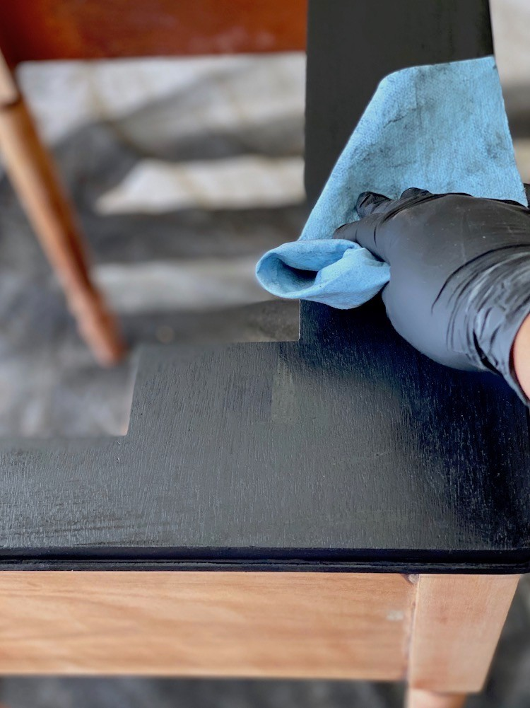 Furniture Refinishing with Varathane Premium Interior Wood Stain