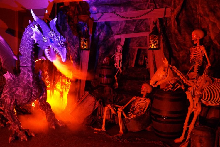 Haunted Mine Dragon Lair Scene