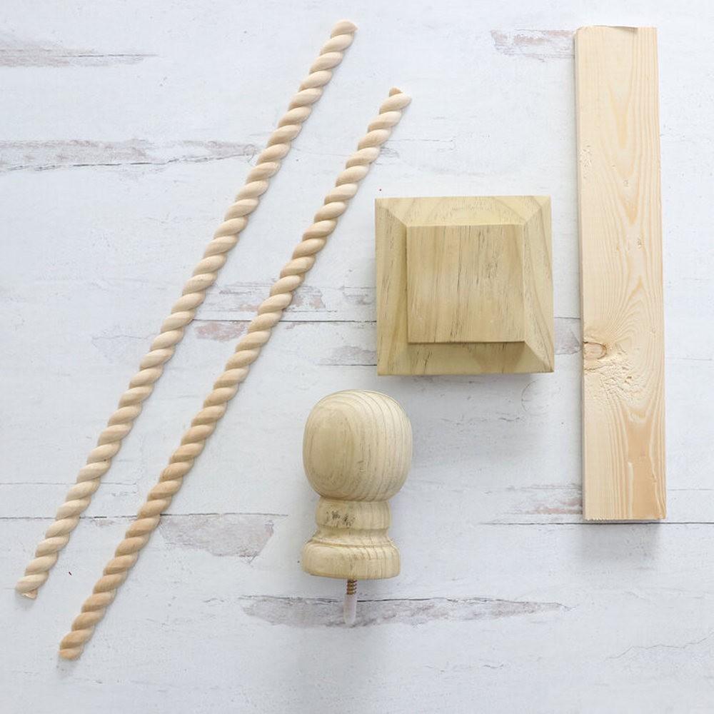 DIY Kinara Making Wood Prep